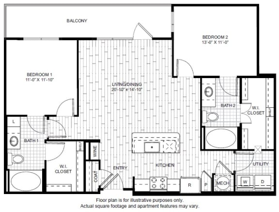 Floor Plan  B3 Floor Plan at Windsor CityLine
