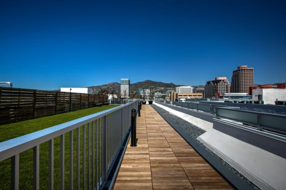 Rooftop Dog Park at Apartments in Glendale, Legendary Glendale, CA 91203