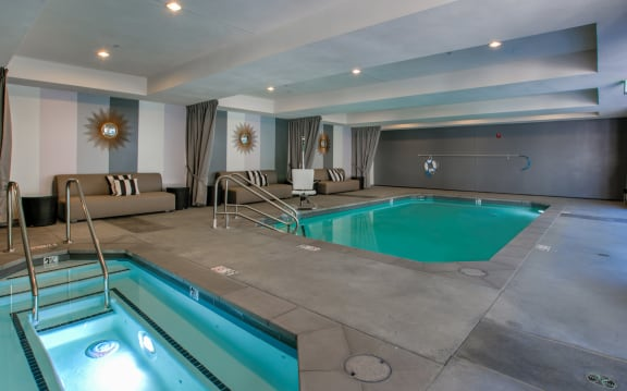 Refreshing Pool and Reinvigorating Spa, Legendary Glendale Apts in Glendale CA 91203