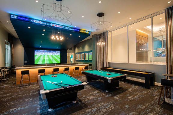 Modern Clubhouse With A Game Room at TENmflats, Columbia, 21044