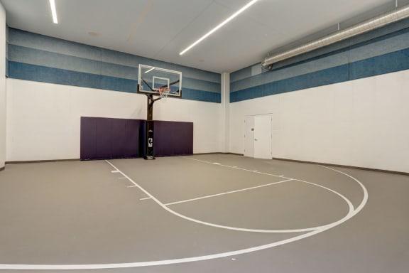 Basketball Court at TENmflats, Maryland, 21044