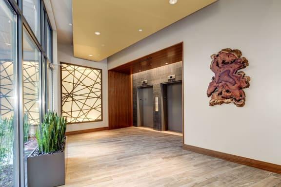 Elevators at TENmflats, Columbia, MD