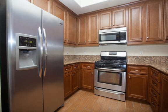 Stainless Steel appliances at The Verandas, Canoga Park, 91304