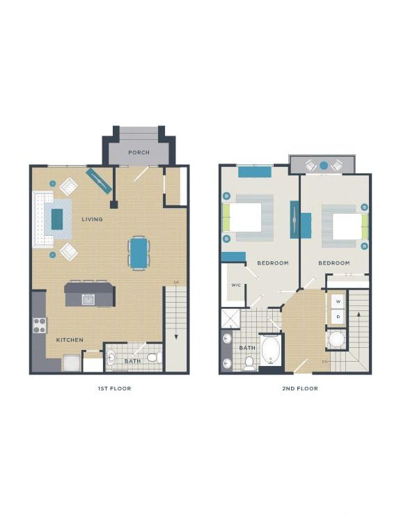 Floor Plan  Floor plan at 712 Tucker, Raleigh, NC