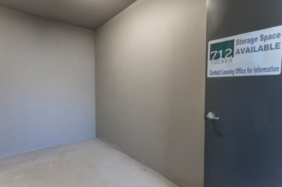 On-Site Storage at 712 Tucker, Raleigh, North Carolina
