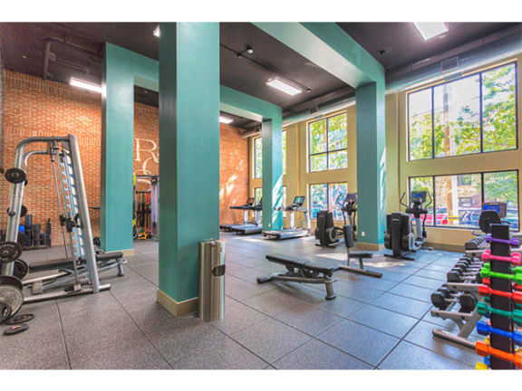 High-Tech Fitness Center at 712 Tucker, Raleigh, NC, 27603