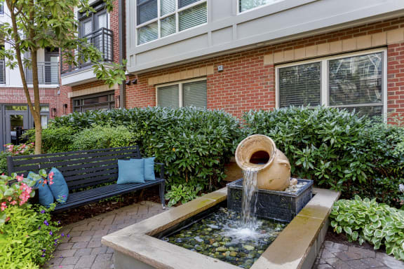 Resort Style Swimming Pool With Mushroom Fountain  at 712 Tucker, North Carolina, 27603