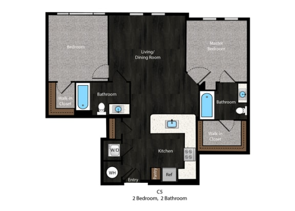Angelou-2Bed FP at The Edition Apartments, Maryland, 20782
