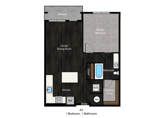 Floor Plan at The Edition Apartments, Maryland