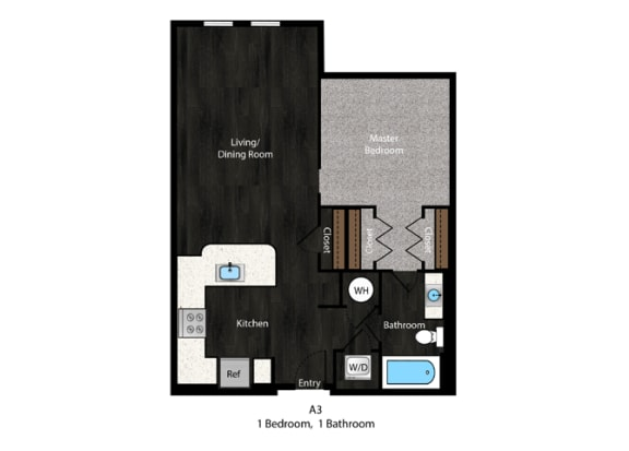 Floor Plan at The Edition Apartments, Maryland, 20782