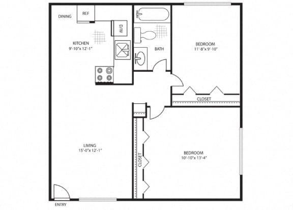 Floor Plan  Rio Brazos