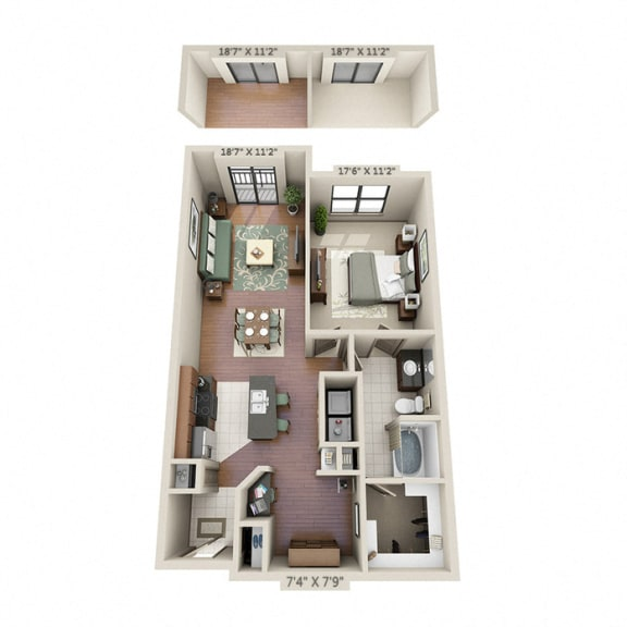 kensington apartments on richmond ave