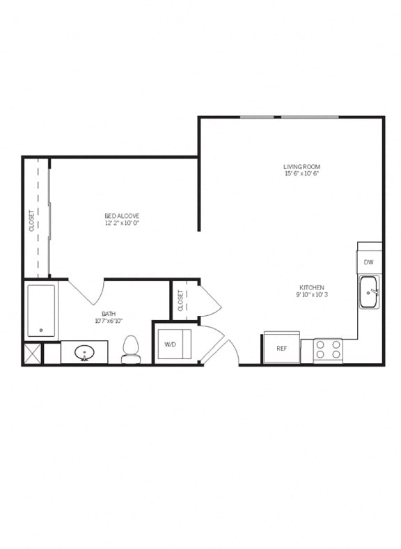 Floor Plans E3 at AVE Walnut Creek, California