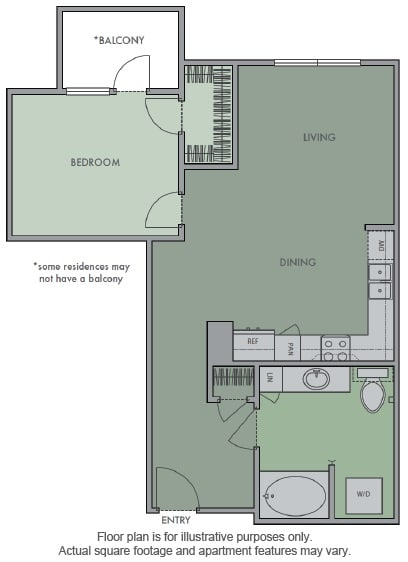 Floor Plan  H Floor Plan at Olympic by Windsor