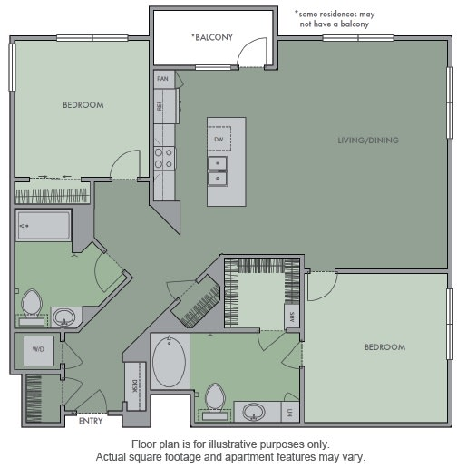 Floor Plan  L Floor Plan at Olympic by Windsor