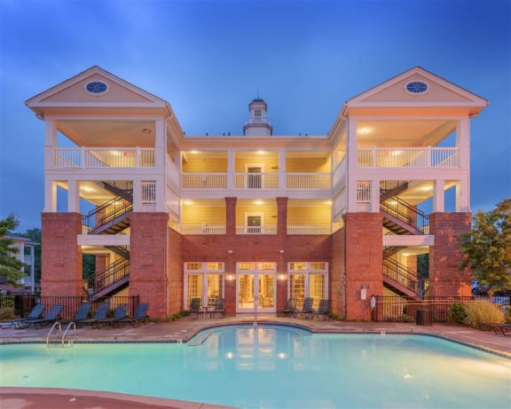 Spacious Clubhouse at Rose Heights apartments, 3801 Glen Verde Trail, North Carolina 27613