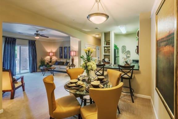 High ceilings at Rose Heights Apartments, North Carolina, 27613