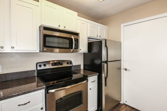 The Colony at Deerwood Apartments stainless steel appliances