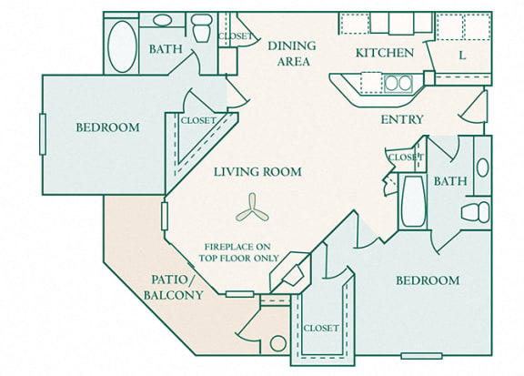 The Commons - B2 - Cambridge - 2 bedroom - 2 bath
