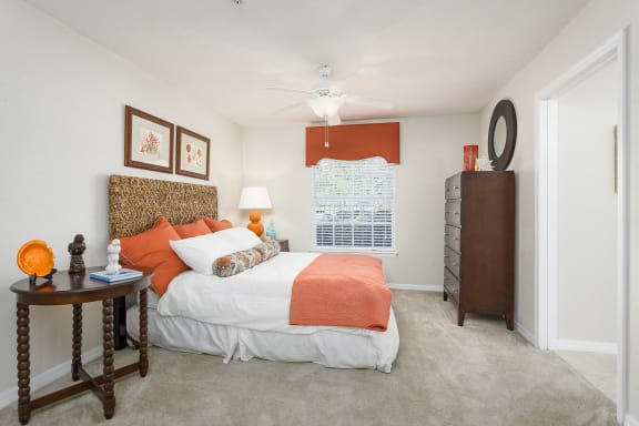 Egret's Landing Apartments ceiling fans with lights