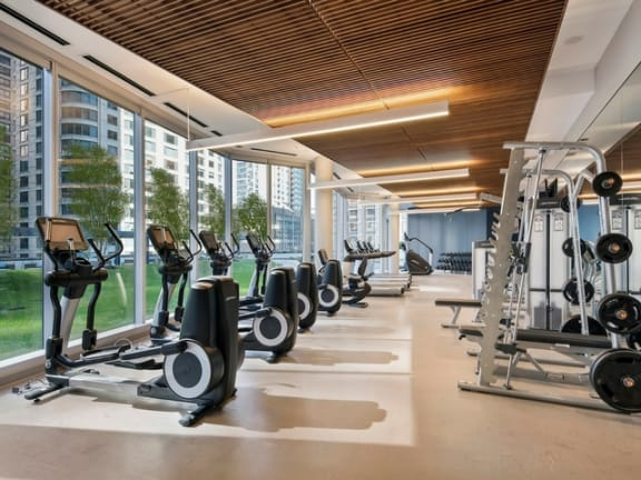Vitality Fitness Hub at Moment, Chicago,Illinois