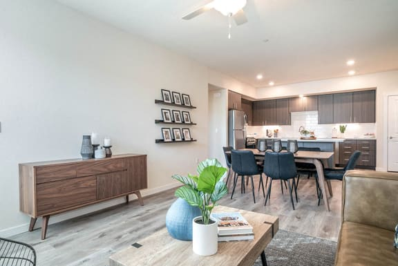 Hub Apartments | Folsom CA |Living room