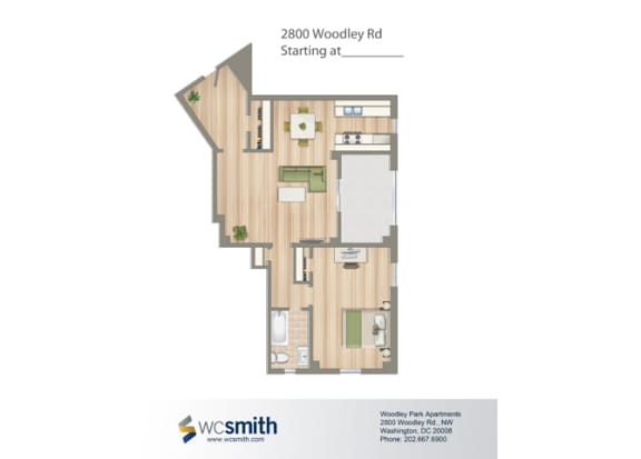 806-Square-Foot-One-Bedroom-Apartment-Floorplan-Available-For-Rent-2800-Woodley-Road