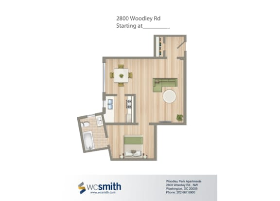 516-Square-Foot-Studio-Apartment-Floorplan-Available-For-Rent-2800-Woodley-Road