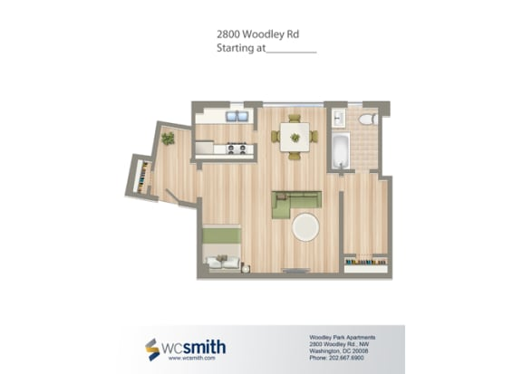480-Square-Foot-Studio-Apartment-Floorplan-Available-For-Rent-2800-Woodley-Road