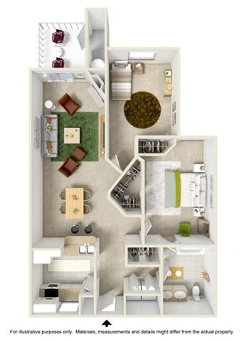 Floor Plan at Willina Ranch, Bothell