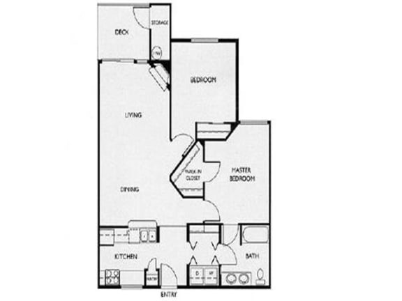 Floor Plan  Floor Plan at Willina Ranch, Bothell,Washington