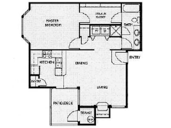 Floor Plan  Floor Plan at Willina Ranch, Bothell, WA