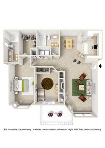 Floor Plan  Floor Plan at Willina Ranch, Bothell,Washington