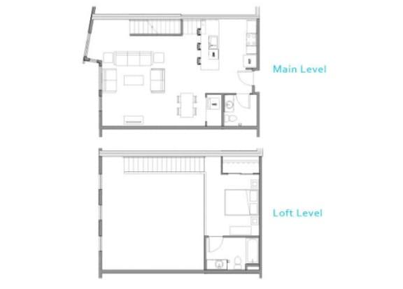 Floor Plan at Allez, Redmond, WA