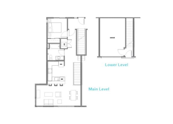 Floor Plan at Allez, Redmond, 98052
