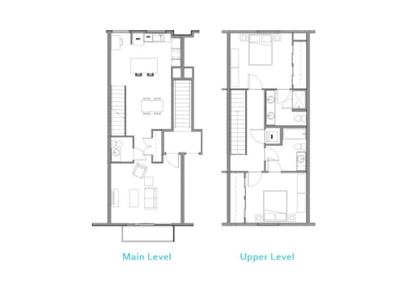 Floor Plan at Allez, Washington, 98052