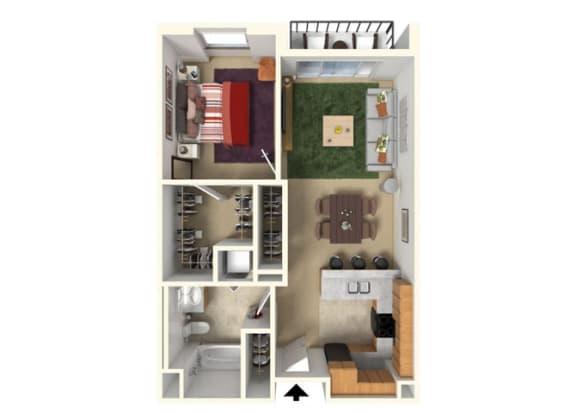 Floor Plan  Floor Plan at Redmond Square, Redmond, 98052