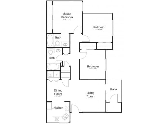 Floor Plan  Floor Plan at Allure at Tempe, Tempe,Arizona