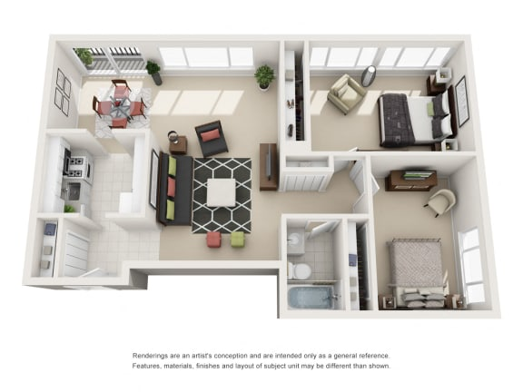 Floor Plan  The Barcroft