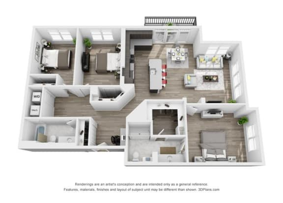 Hamilton Floorplan