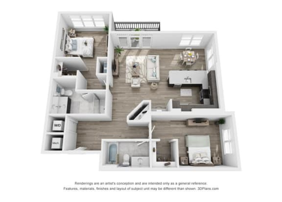 Pierce Floorplan