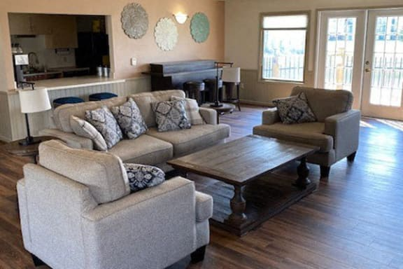 Community Building With Free Wi-Fi at Autumn Lakes Apartments and Townhomes in Mishawaka, IN