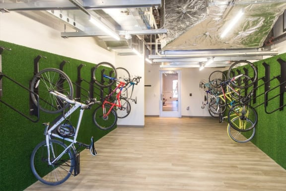 Bakery Living Bike Storage, apartments in Pittsburgh, Pennsylvania