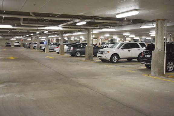 Parking Garage, apartments in Pittsburgh, Pennsylvania
