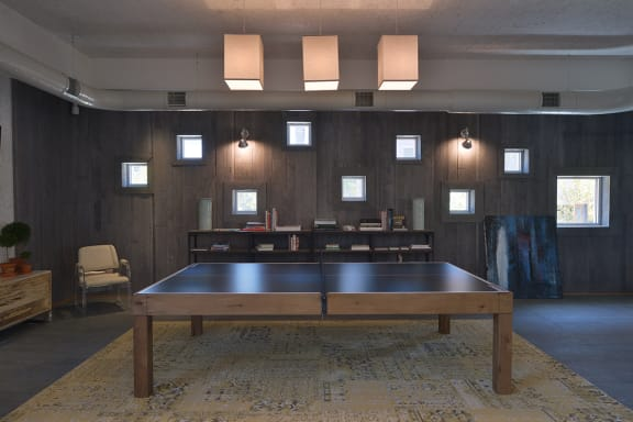 Ping Pong Table at Bakery Living apartments in Pittsburgh, PA 15206