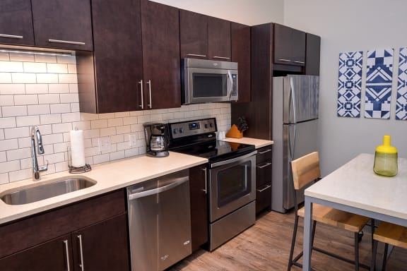 Fully Equipped Kitchen at Bakery Living, Pittsburgh, 15206