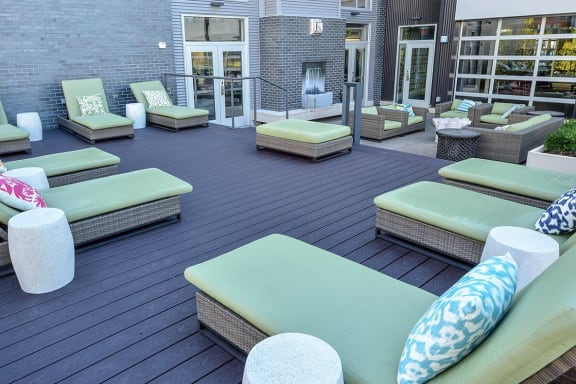 Sundeck and Patio at Bakery Living, Pennsylvania 15206