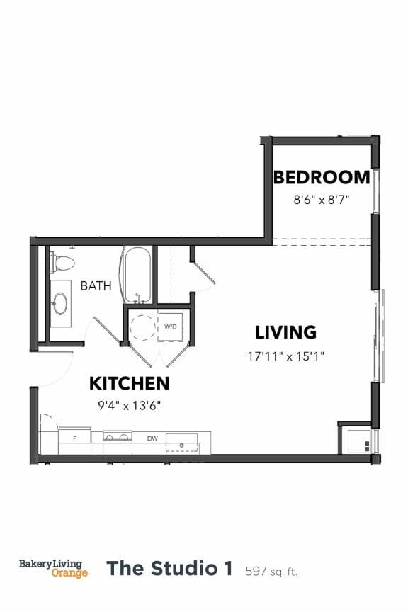 Bakery Living E1, apartments in Pittsburgh, Pennsylvania