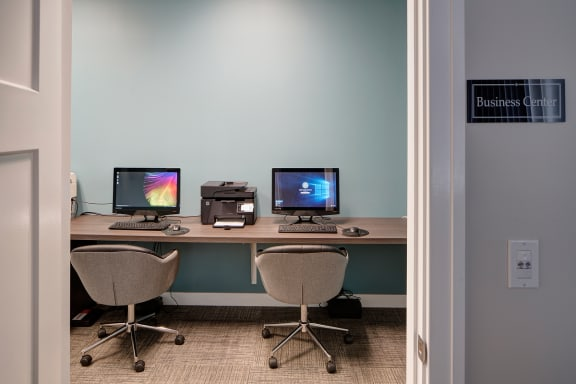 Tech and Business Center with Wi-Fi at Eagle Creek Apartments, 1130 S. Williams Street, Westmont, 60559