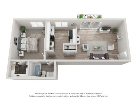 Floor Plan  Sycamore Floor Plan - Eagle Creek Apartments